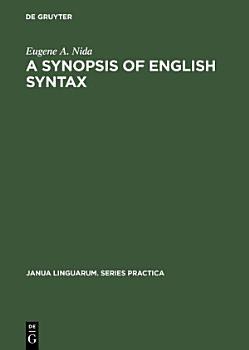 A Synopsis of English Syntax PDF