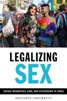 Legalizing Sex PDF