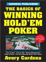 Basics of Winning Hold em Poker PDF