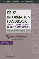 Drug Information Handbook with International Trade Names Index 2014 2015 PDF