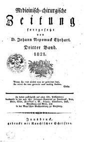 Medicinisch-chirurgische Zeitung: Band 3