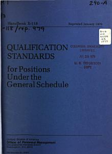 Qualification Standards for Positions Under the General Schedule PDF