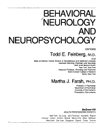 Behavioral Neurology and Neuropsychology PDF