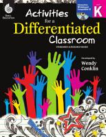 Activities for a Differentiated Classroom  Level K PDF