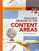 Teaching Reading in the Content Areas PDF