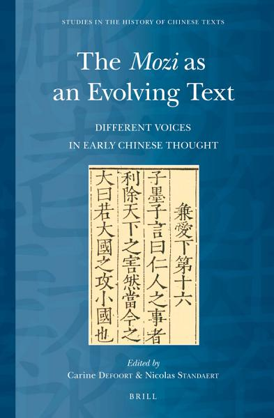 The Mozi As An Evolving Text
