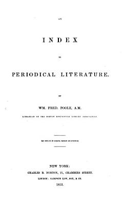 An Index to Periodical Literature PDF