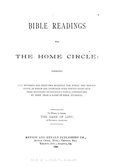 Bible Readings for the Home Circle PDF