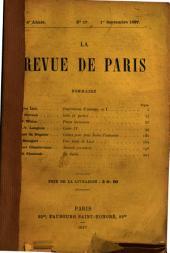 Revue de Paris: journal critique, politique et littéraire