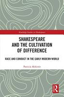 Shakespeare and the Cultivation of Difference PDF