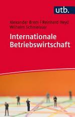 Internationale Betriebswirtschaft PDF