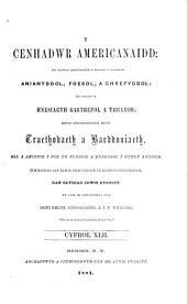 Y Cenhadwr americanaidd: Volume 42