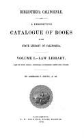Bibliotheca Californiae PDF