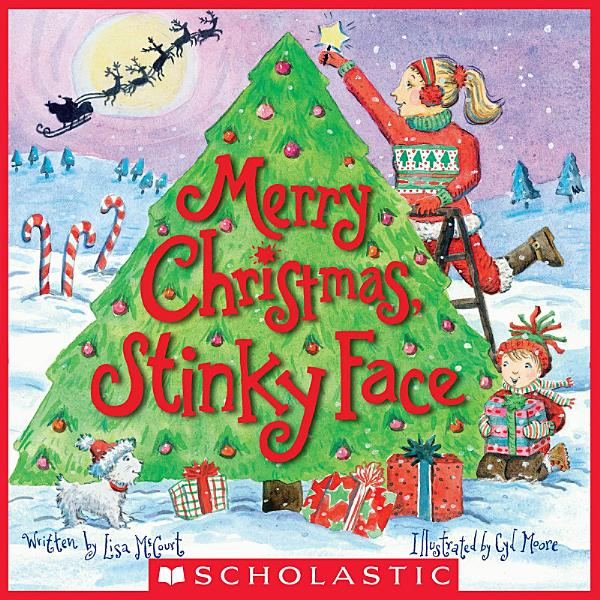 Download Merry Christmas  Stinky Face Book