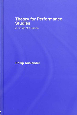 Theory for Performance Studies