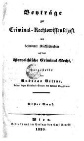 Beytrage zur Criminal-Rechtswissenschaft