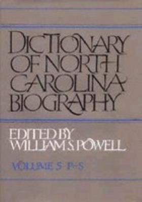 Download Dictionary of North Carolina Biography Book