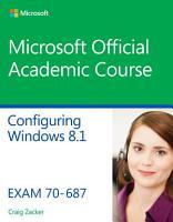 70 687 Configuring Windows 8 1 PDF