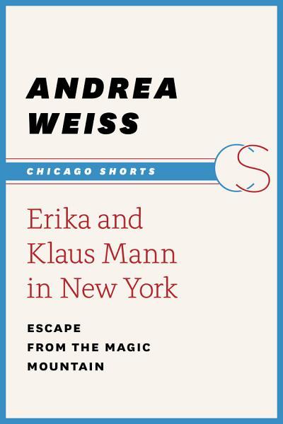 Erika and Klaus Mann in New York