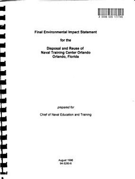 Naval Training Center Orlando  Disposal and Reuse  Orange County PDF