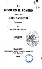 Il ricco ed il povero ovvero I due avvocati dramma di Emilio Souvestre
