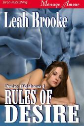 Rules of Desire [Desire, Oklahoma 4]