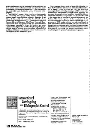 International Cataloguing and Bibliographic Control PDF