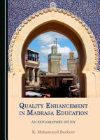 Quality Enhancement in Madrasa Education PDF