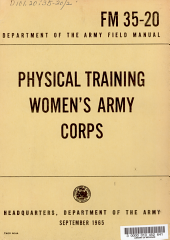 Physical Training, Women's Army Corps