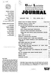 United Association of Journeymen and Apprentices of the Plumbing and Pipe Fitting Industry Journal PDF