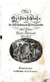 Das Geisterschloss: oder die Auferstehung im Todtengewölbe. Ein Roman, Band 1