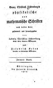 Physikalische und mathematische Schriften: 2