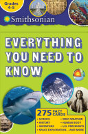 Smithsonian Everything You Need to Know  Grades 4 5 PDF