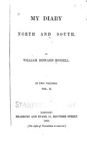 My Diary North and South: Volume 2