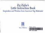 Zig Ziglar's Little Instruction Book