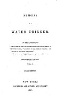 Memoirs of a Water Drinker PDF