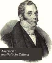 Allgemeine musikalische Zeitung: Band 40