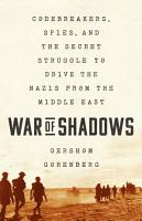 War of Shadows PDF