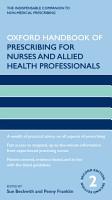 Oxford Handbook of Prescribing for Nurses and Allied Health Professionals PDF