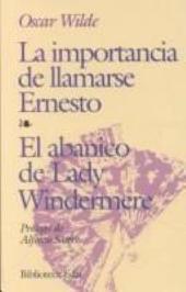 La importancia de llamarse Ernesto, El Abanico de Lady Windermere