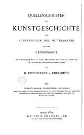 Dürers briefe, tagebücher und reime, nebst einem Anhange von Zuschriften an und für Dürer, übers: und mit winlwitung, anmerkungen, personenverzeichniss und einer reisekarte versehen von Moriz Thausing