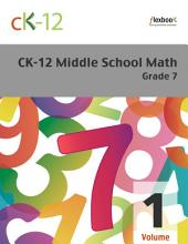 CK-12 Middle School Math Grade 7, Volume 1 Of 2