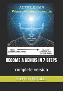 Become A Genius In 7 Steps Book PDF