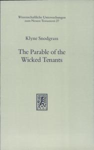 The Parable of the Wicked Tenants Book