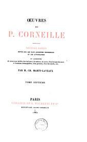 Oeuvres de P. Corneille: Volume7