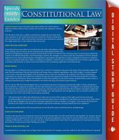 Constitutional Law PDF