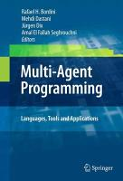 Multi Agent Programming  PDF