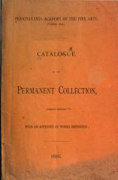 Catalogue of the Permanent Collection, with an Appendix of Works Deposited