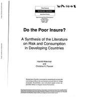 Do the Poor Insure?: A Synthesis of the Literature on Risk and Consumption in Developing Countries