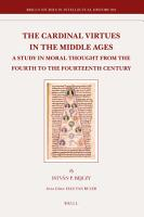 The Cardinal Virtues in the Middle Ages PDF